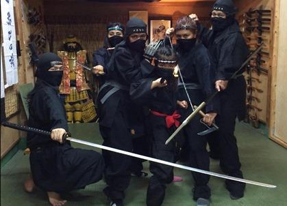 Tokyo Ninja Experiences Learn The Ways Of The Shinobi Plaza Homes