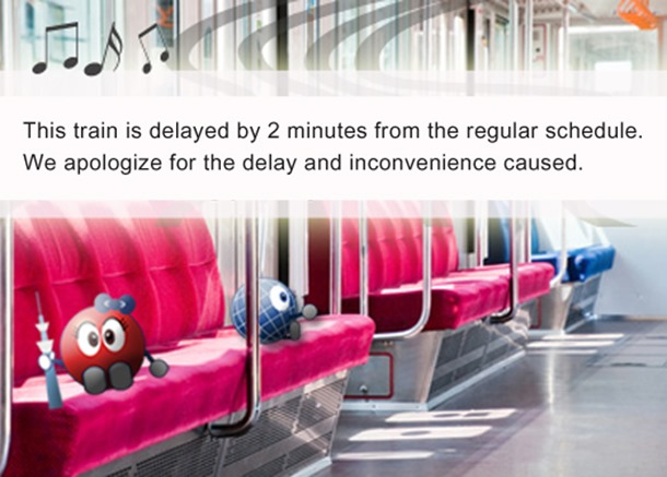 Train running late? Get a Train Delay Certificate(Chien