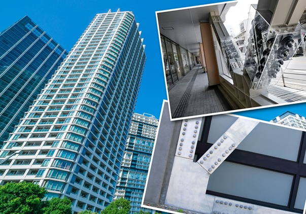 Image result for image of earthquake proof buildings in tokyo