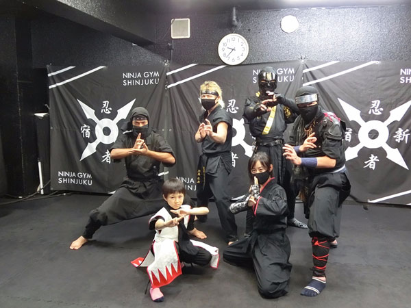 Stealth Ninja Japanese Warrior Black Assassin Book Week Boys Costume 3-5
